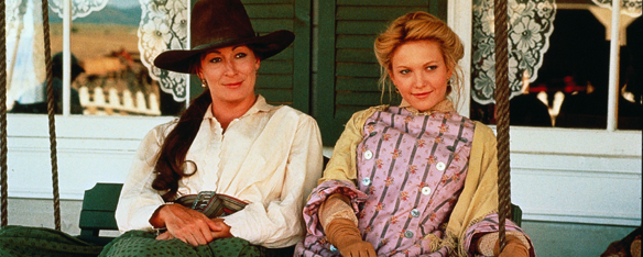 Image result for anjelica huston and rick schroder in lonesome dove