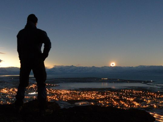 Argentinian eclipse